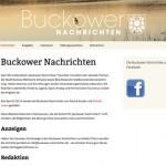 Projekt: Buckower Nachrichten