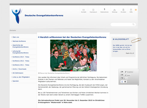 Projekt: Deutsche Evangelistenkonferenz