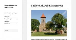 Michael Laqua Projekte Feldsteinkirche Hasenholz