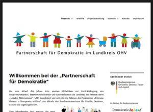 Projekt: Partnerschaft für Demokratie im Landkreis OHV