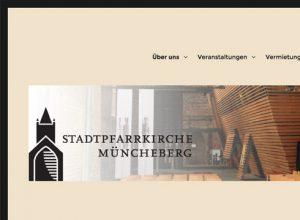 Projekt: Stadtpfarrkirche Müncheberg
