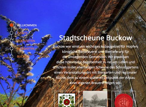 Projekt: Stadtscheune Buckow