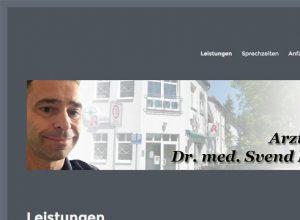 Projekt: Arztpraxis Dr. med. Svend Barthel