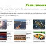Michael Laqua: Projekt Erneuerbare TV, Website zum Thema erneuerbare Energien