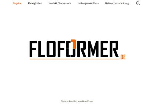 Projekt: Floformer