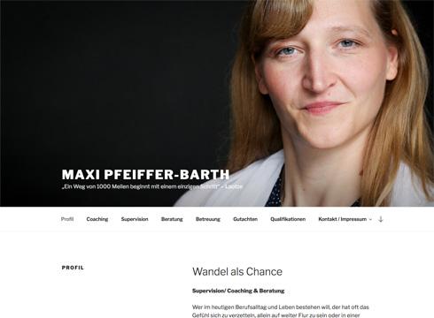Projekt: Maxi Pfeiffer-Barth