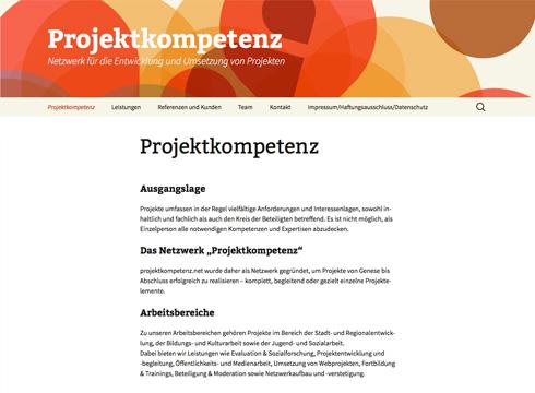 Projekt: Projektkompetenz